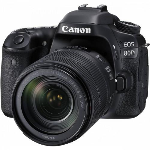 Canon EOS 80D kit (18-135mm) IS USM EU