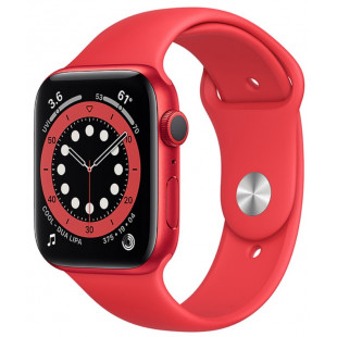 Apple Watch Series 6 GPS 44mm (PRODUCT) RED Aluminum Case w. (PRODUCT)RED Sport B. (M00M3)