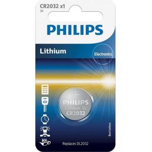Батарейка Philips Lithium CR 2032 BLI 1