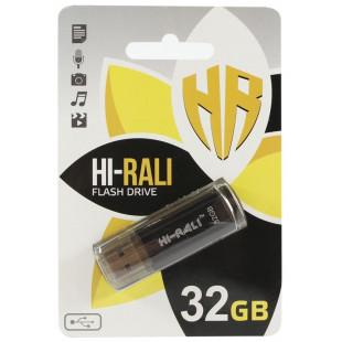Флешка Hi-Rali 32 GB Stark series Black (HI-32GBSTBK)