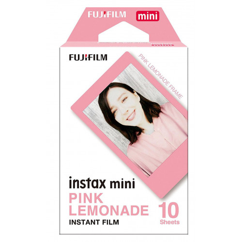 Фотобумага Fujifilm INSTAX MINI PINK LEMONADE (54х86мм 10шт)