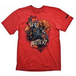 Футболка COD ″Black Ops 4 T-Shirt Battery Red″, размер L