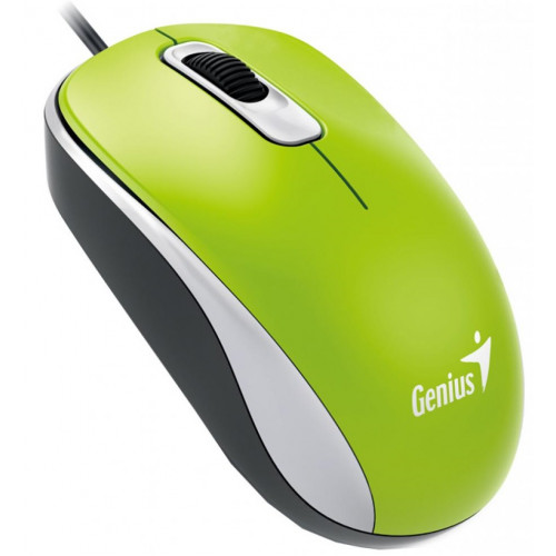 Мышь GENIUS DX-110 USB, Green