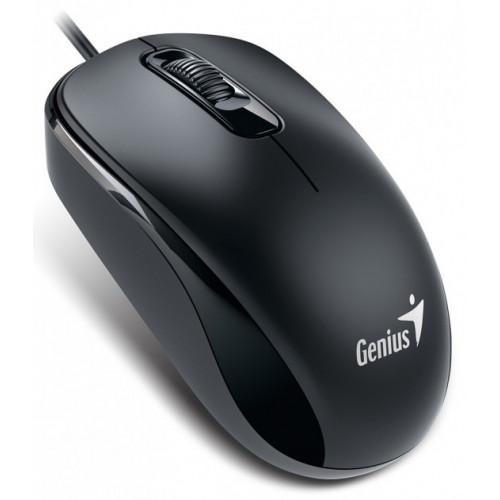 Мышь GENIUS DX-110 PS2  Черная