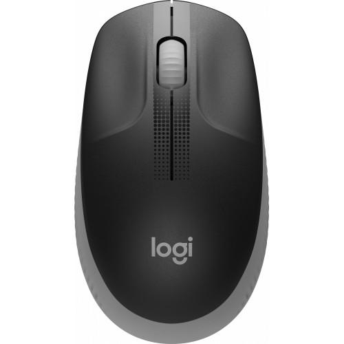 Мышь Logitech M190 Wireless Mid Grey