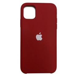 Чехол Silicone Case Burgundy (HC) для  iPhone 12 Pro Max