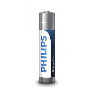 Батарейка Philips Ultra Alkaline AAA BLI 4
