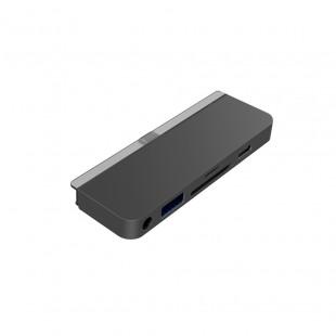 HUB HyperDrive USB-C 6-in-1 для iPad Pro 11″ / 12.9″ / Air 4 Space Gray