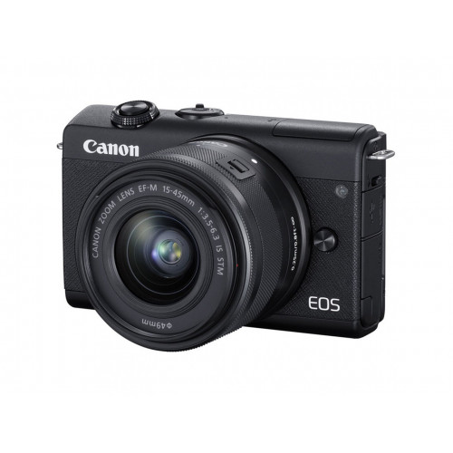 Фотоаппарат Canon EOS M200 kit (15-45mm) IS STM Black EU