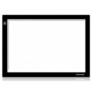 Графический планшет (светокопировальный) Huion L4S + перчатка