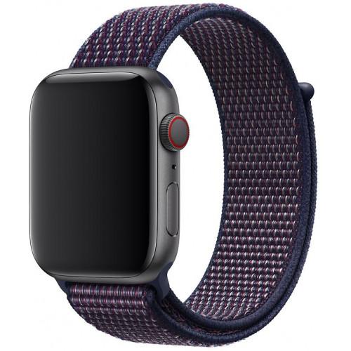 Ремешок Apple Watch 38/40mm Sport Loop (Dark Blue)