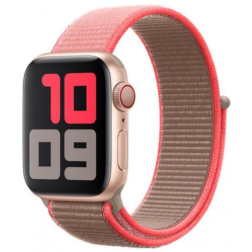 Ремешок Apple Watch 38mm/40mm Sport Loop Neon Pink  (MXMN2)