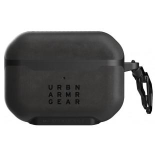 Противоударный чехол UAG Apple AirPods Pro (Metropolis, LTHR ARMR Black)