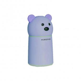 Увлажнитель воздуха Bear с арома-диффузором (lamp+fan) — Blue