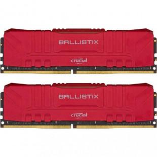 Оперативная память DDR4 16GB (2x8GB) 3000Mhz Crucial Ballistix Red (BL2K8G30C15U4R)