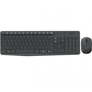 Беспроводной комплект (клавиатура, мышь) Logitech MK235 Black USB (920-007948)