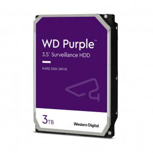 HDD SATA 3.0TB WD Purple 5400rpm 64MB (WD30PURZ)