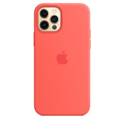 Чехол Apple iPhone 12/12 Pro Silicone Case MagSafe - Pink Citrus (MHL03)