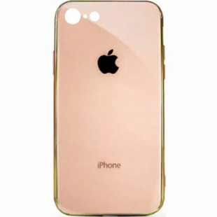 Силиконовая накладка Apple iPhone 7/8 Plus Glass Pink