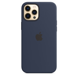 Чехол Apple iPhone 12 Pro Max Silicone Case MagSafe - Deep Navy (MHLD3)