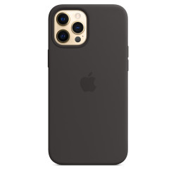 Чехол Apple iPhone 12 Pro Max Silicone Case MagSafe - Black (MHLG3)