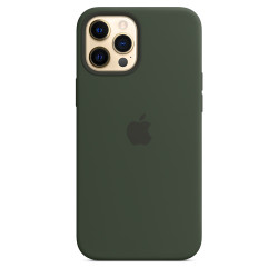 Чехол Apple iPhone 12 Pro Max Silicone Case MagSafe - Cyprus Green (MHLC3)