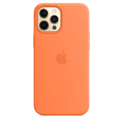 Чехол Apple iPhone 12 Pro Max Silicone Case MagSafe - Kumquat (MHL83)