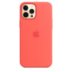 Чехол Apple iPhone 12 Pro Max Silicone Case MagSafe - Pink Citrus (MHL93)