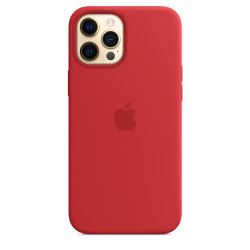 Чехол Apple iPhone 12 Pro Max Silicone Case MagSafe -  PRODUCT RED (MHLF3)