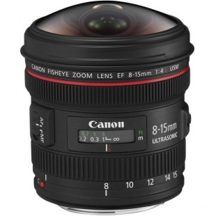Объектив Canon EF 8-15mm f/4L USM FISHEYE UA