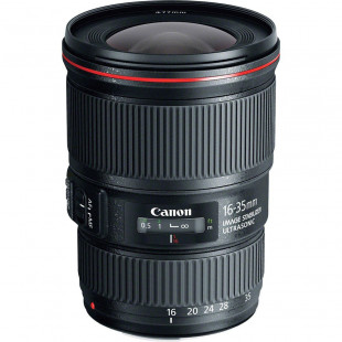Объектив Canon EF 16-35mm f/4L IS USM UA