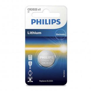 Батарейка Philips Lithium CR 2025 BLI 1