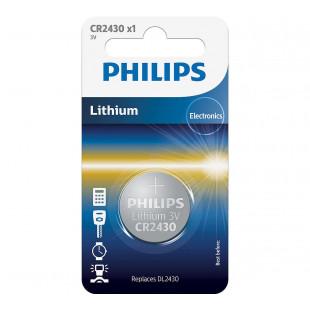 Батарейка Philips Lithium CR 2430 BLI 1