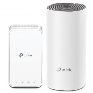 WiFi Mesh система TP-Link Deco E3 2-pack (AC1200, 2xFE WAN/LAN, MESH, 2 антенны, 2-pack)