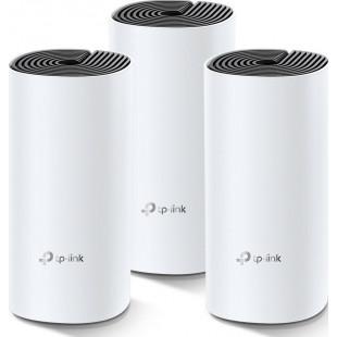 WiFi Mesh система TP-Link Deco M4 3-pack (AC1200, 2xGE LAN/WAN, MESH, MU-MIMO, 2 антенны, 3-pack)