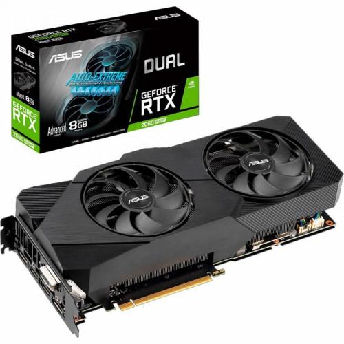 Видеокарта GeForce ASUS RTX 2060  DUAL-RTX2060S-A8G-EVO-V2