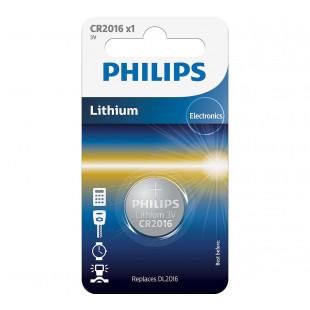 Батарейка Philips Lithium CR 2016 BLI 1