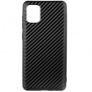Силикон Samsung A31 Epic Carbon (Черный)
