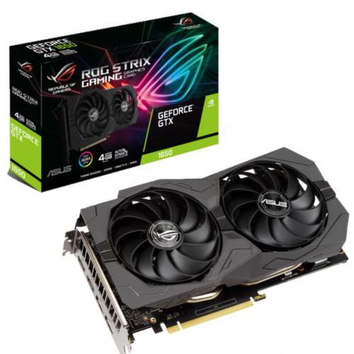 Видеокарта GeForce ASUS GTX 1650 4GB GDDR6 ROG (ROG-STRIX-GTX1650-A4GD6-G)