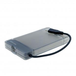 Внешний карман Grand-X для HDD 2,5″ USB 3.1 Type-C (HDE31)