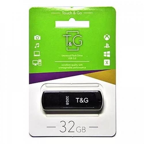 Флешка USB T&G  011 Classic series 32GB Black (TG011-32GBBK)