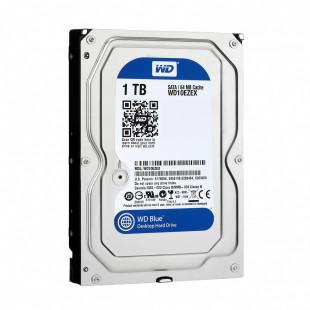 HDD SATA 1TB  WD Blue 3,5 SATA 64MB 7200 об/мин(WD10EZEX)