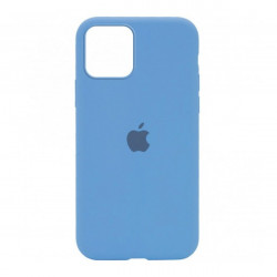 Чехол Silicone Case Cornflower  (HC) для  iPhone 12 / 12 Pro