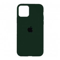 Чехол Silicone Case Olive (HC) для  iPhone 12 / 12 Pro
