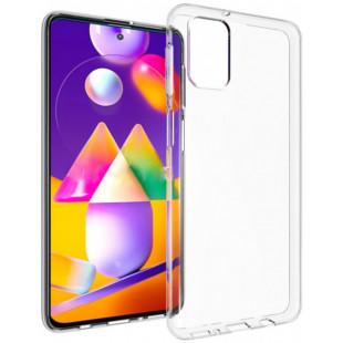 Силиконовый чехол Samsung M31s Clear