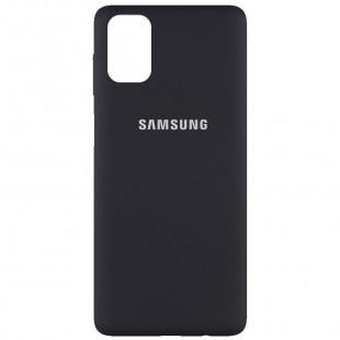 Силиконовый чехол Samsung M51 Black