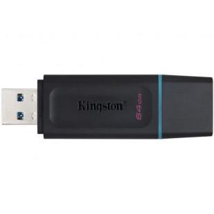 Флешка Kingston DataTraveler Exodia 64GB Black+Teal (DTX/64GB)