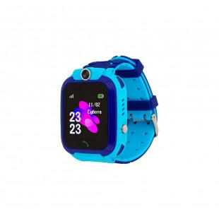 Детские водонепроницаемые смарт-часы AmiGo GO002 Swimming Camera WIFI Blue