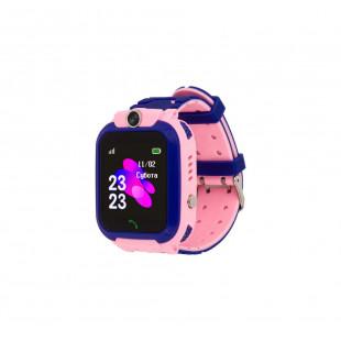 Детские водонепроницаемые смарт-часы AmiGo GO002 Swimming Camera WIFI Pink