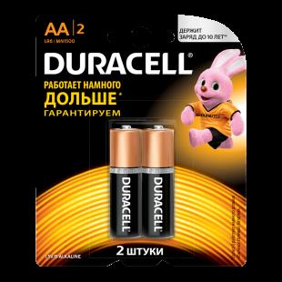 Батарейки Duracell AA (LR06) MN1500 1шт